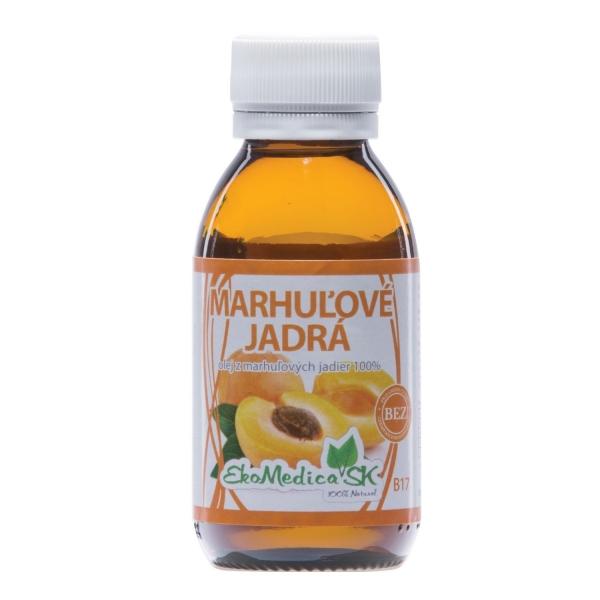 EkoMedica Olej z marhuľových jadier, 100% olej