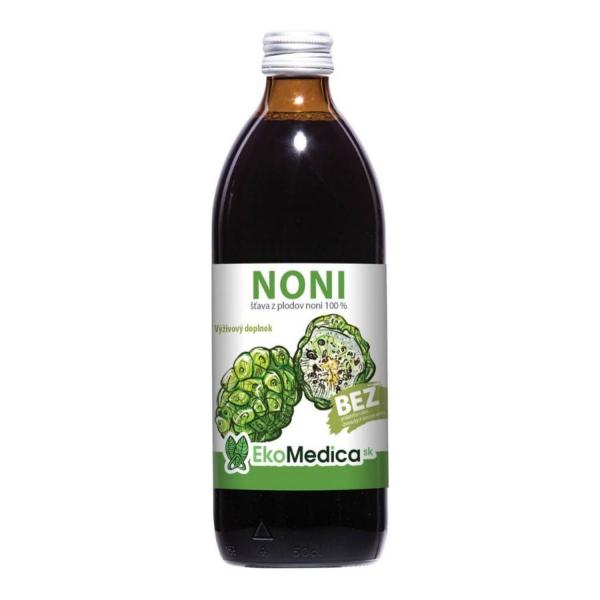 EkoMedica Noni 100% šťava