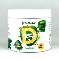 EkoMedica NATURAL DETOX výživový doplnok v prášku