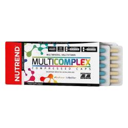 Vitamínové a minerálne kapsule NUTREND Multicomplex Compressed Caps
